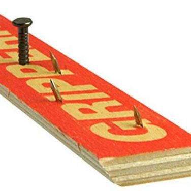 Carpet Gripper Rods - Extra Wide Wood