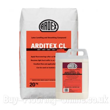 Ardex - Arditex CL Powder & Latex (24.5kg) Latex Levelling and Smoothing Compound