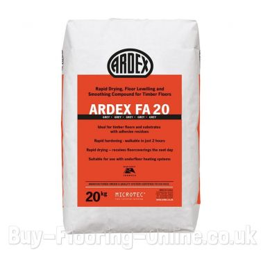 Ardex - FA20 (20kg) Rapid Drying, Floor Levelling and Smoothing Compound for Timber Floors