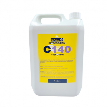 F Ball - Styccoclean C140 Floor Cleaner & Contaminant Remover (5ltr)