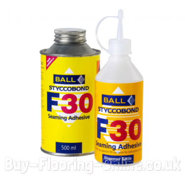 F Ball - F30 (500ml) Styccobond Carpet Seaming Adhesive (Can Only)
