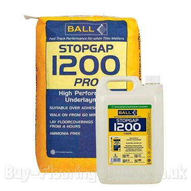 F Ball - Stopgap 1200 Pro (20kg + 5ltr) High Performance Smoothing Underlayment