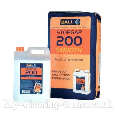 F Ball - Stopgap 200 Smooth (25kg + 5ltr) Acrylic Floor Smoothing Underlayment