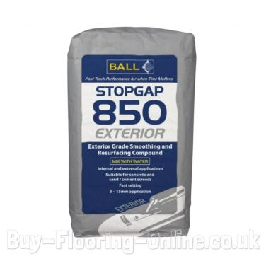 F Ball - Stopgap 850 Exterior (25kg) Exterior Floor Smoothing Compound