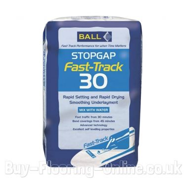 F Ball - Stopgap Fast-Track 30 (16kg) Rapid Set, Rapid Dry Smoothing Underlayment