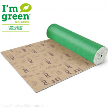 Tredaire - Renu - 9mm - Sustainable Carpet Underlay - 98% Recycled - 15.07m2 Roll