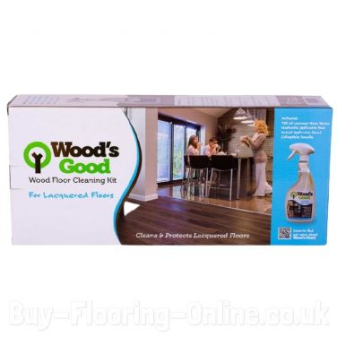Wood's Good Wood Flooring Cleaning Kit (Lacquered)